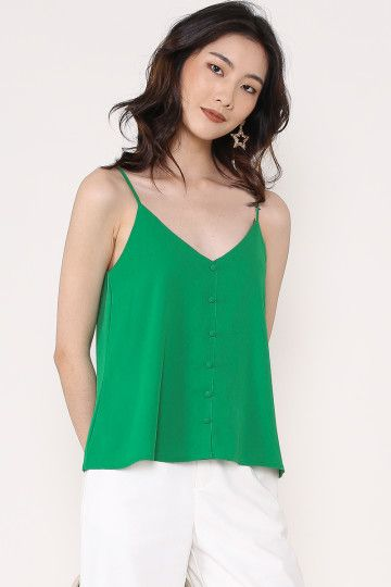 POLLY POCKET TOP (KELLY GREEN) (SIZE L)