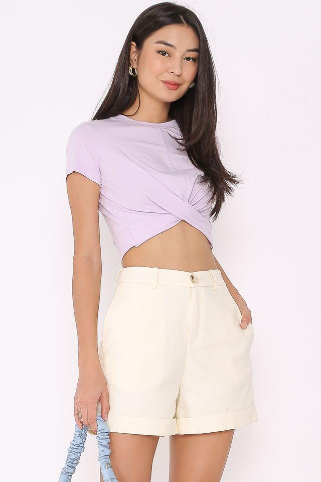 TWIST & TURN TOP (LILAC)