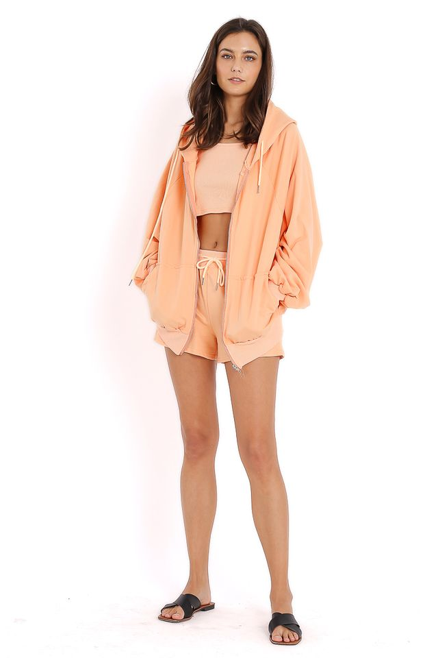 HADID 3 PIECE SET (SHERBET ORANGE)