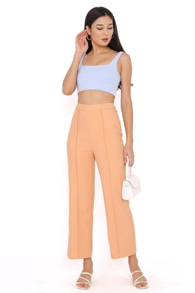 PACEY PANELLED PANTS (SHERBET ORANGE)